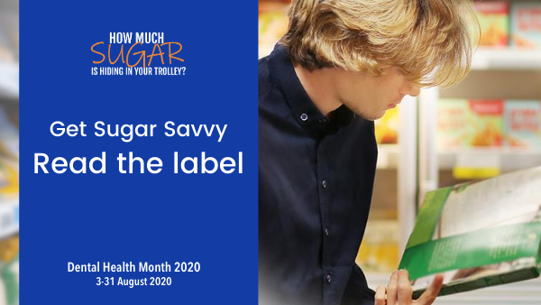 Dental Health Month 2020 - Read the Label